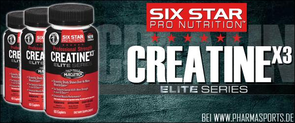 Professional Strength CreatineX3, Ihr Creatin für harte Zeiten!
