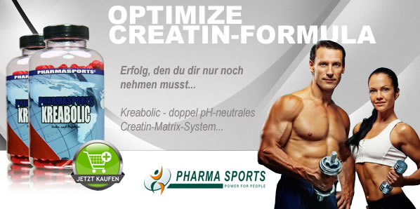 Erfolg, den Du dir nur noch nehmen mussst ... Kreabolic - doppel pH-neutrales Creatin-Matrix-System
