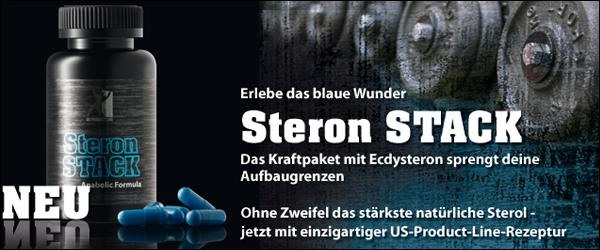 US-Product-Line Steron Stack zum Aufbau von Kraft und Muskelmasse