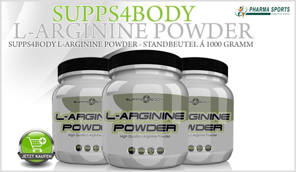 L-Arginin beim Muskelaufbau und mehr