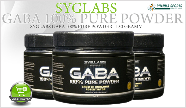 Neu im Sortiment: Syglabs Gaba 100% Pure Powder