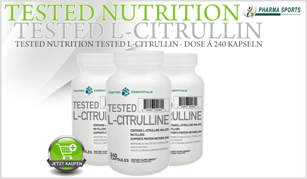 Tested Nutrition Tested L-Citrulline Malate bei Pharmasports