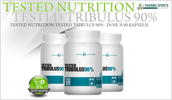 Tested Nutrition Tested Tribulus 90% neu bei Pharmasports im Tribulus-Sortiment