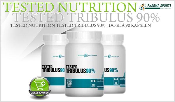 Tested Nutrition Tested Tribulus 90% neu bei Pharmasports im Tribulus-Sortiment