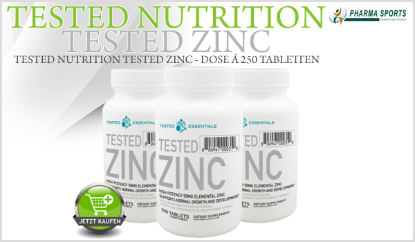 Tested Nutrition Tested Zinc bei Pharmasports