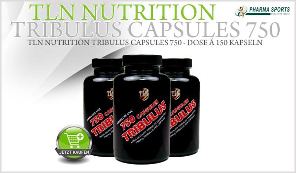 Neu bei Pharmasports - TLN Tribulus Capsules 750