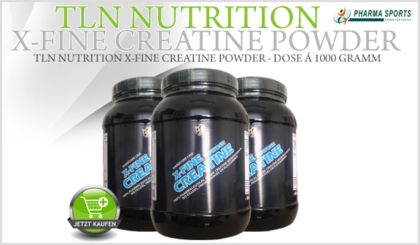 Neu im Sortiment: TLN Nutrition - TLN Nutrition X-Fine Creatine Powder