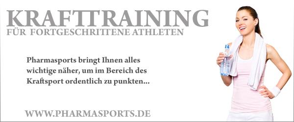 Trainingsplan für fortgeschrittene Athleten kostenlos bei Pharmasports
