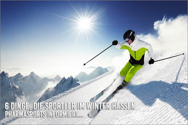 6 Dinge, die Sportler im Winter hassen