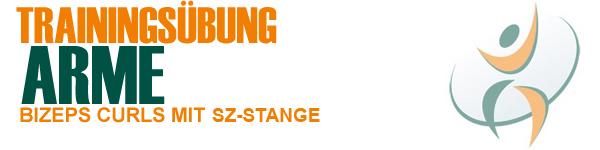 Bizepstraining mit der SZ-Stange