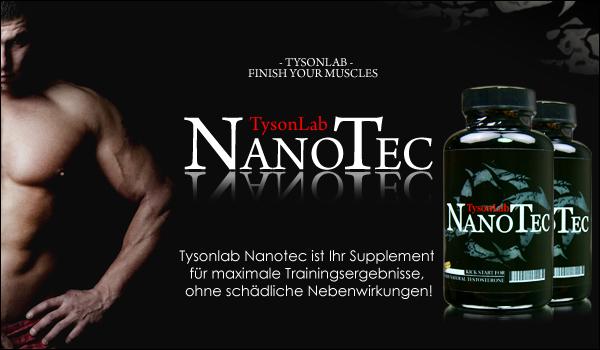 TysonLab NanoTec für mehr Muskelmasse und Kraft