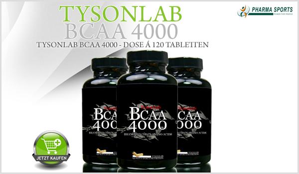 TysonLab BCAA 4000 - die nächste Generation