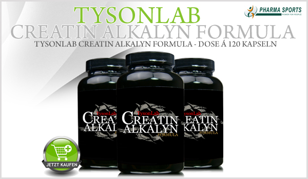 TysonLab Creatin Alkalyn Formula - hochwertiges Creatin Supplement bei Pharmasports