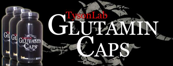 TysonLab Glutamin Caps zum Muskelaufbau