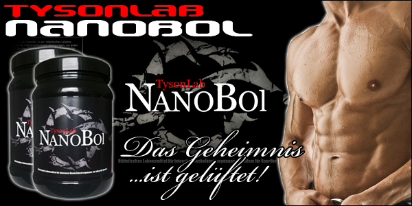 TysonLab Nanobol für starken Muskelzuwachs!