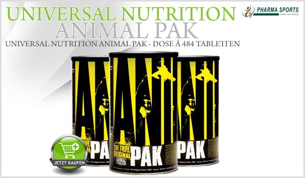 Universal Nutrition Animal Pak bei Pharmasports