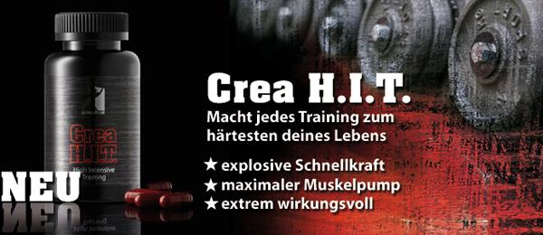 US-Produtct-Line Crea H.I.T. - Sie entscheiden, wann der Satz zu Ende ist!
