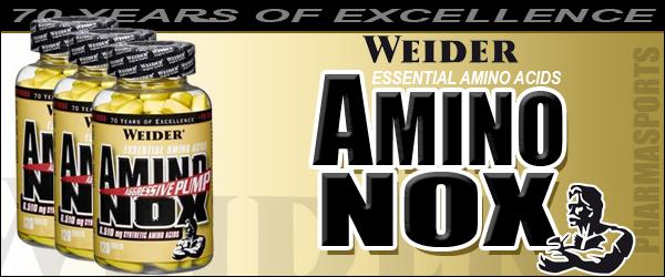 Weider Amino Nox ab sofort bei Pharmasports