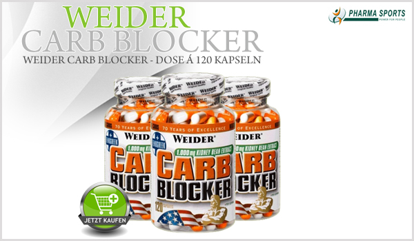 Weider Carb Blocker bei Pharmasports