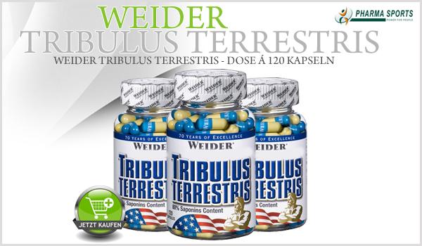 NEU bei Pharmasports - Weider Tribulus Terrestris