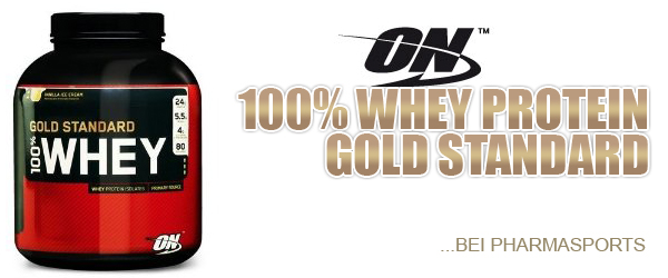 Optimum Nutrition (ON) 100% Whey Protein Gold Standard